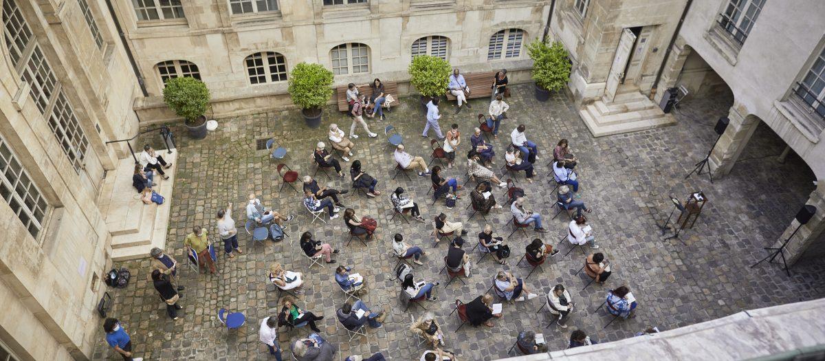 Une heure avec... Théâtre Ouvert © C.Raynaud de Lage