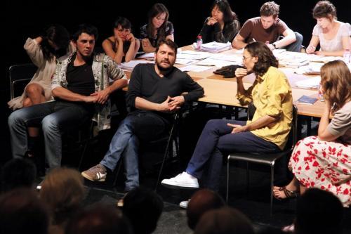 Ecole Pratique des Auteurs de Théâtre, 2010 ©Jean-Julien Kraemer